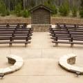 The amphitheater at Timber Creek.- Timber Creek Campground