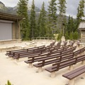 The amphitheater hosts ranger programs during the summer season.- Timber Creek Campground