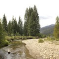 The headwaters of the Colorado River are just a couple of minutes from the campground.- Timber Creek Campground