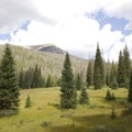 Open meadows of the Kawuneeche Valley.- Little Yellowstone via the La Poudre Pass Trail