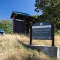 Dillard East Trailhead along the Ridgeline Trail System.- Ridgeline Trail System: Dillard East Trailhead