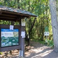 Spring Boulevard Trailhead on the Ridgeline Trail System. - Ridgeline Trail System: Dillard East Trailhead