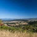 View from the summit of Mount Baldy looking south over the Willamette Valley.- Ridgeline Trail System: Dillard East Trailhead