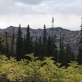 Views on the climb to Albion Meadow.- Albion Meadows Trail to Germania Pass