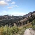 Germania Pass.- Albion Meadows Trail to Germania Pass