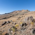 First view of Frary Peak from the trail.  - Frary Peak