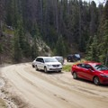 The Chapin Pass Trailhead offers minimal parking.- Chapin, Chiquita + Ypsilon (CCY Route)