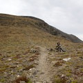 The pass between Mount Chapin and Mount Chiquita.- Chapin, Chiquita + Ypsilon (CCY Route)