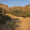 The mouth of the canyon.- Heughs Canyon Trail