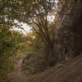 Great rock formations along the trail.- Heughs Canyon Trail
