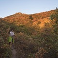 Hiking the Heughs Canyon Trail.- Heughs Canyon Trail