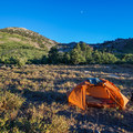 Smith Creek campsite.- Ruby Crest Trail