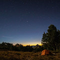 Campsite in the Smith Creek drainage.- Ruby Crest Trail