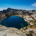 The beautiful Liberty Lake.- Ruby Crest Trail