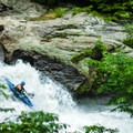 Dropping over Groove Tube.- Green River Narrows
