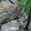 Rock Formations close to the top of the Summit Trail.- House Mountain Loop