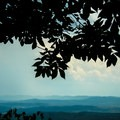 View of the Cumberland Mountains in the distance.- House Mountain Loop