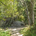 One of many small grottos along the way.- Little Cottonwood Trail