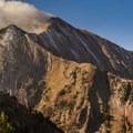 Morning Clouds on Mount Nebo.- Mount Nebo + North Peak