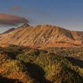 Sunrise on Mount Nebo and North Peak.- Mount Nebo + North Peak