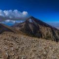 Mount Nebo from North Peak.- Mount Nebo + North Peak