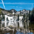 Tamarack Lake.- Tamrack Lakes Hike