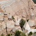 The distinctive sandstone hoodoos seen from above.- Slot Canyon Trail