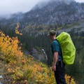 Making the most of rainy weather in Glacier National Park.- Sperry Trailhead to Sperry Chalet
