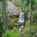 Warm Springs Falls in the Umpqua National Forest.- Warm Springs Falls