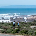 The wide gravel trail is great for running, biking and hiking.- Bluff Trail Hike