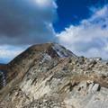 The north and highest summit of Moun Nebo.- Mount Nebo + North Peak