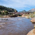 The put-in upstream of the Highway 60 bridge.- Salt River: Daily Section