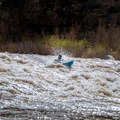 Fun ledges of the put-in rapid.- Salt River: Daily Section