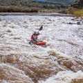 The first rapid below Mule Hoof Put-in.- Salt River: Daily Section