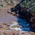 The Upper Salt River Gorge is beautiful, but it is closed to boating.- Salt River: Daily Section