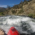Beginning Racehorse Bend (Class II+).- South Fork of the American River: Chili Bar to Coloma