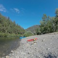 Chili Bar put-in on the South Fork of the American River.- South Fork of the American River: Chili Bar to Coloma