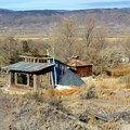 Miscellaneous structures and artifacts on the property.- Mystic Hot Springs