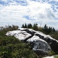 Summit of exposed quartz.- Art Loeb Trail