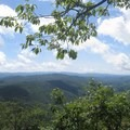 View from the ridge after Shining Rock.- Art Loeb Trail