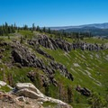 The view from the Mammoth Rock Trail.- Mammoth Rock Trail