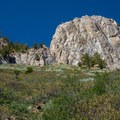 Mammoth Rock from the trail.- Mammoth Rock Trail