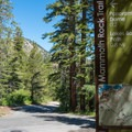 Entrance to the trail from the west.- Mammoth Rock Trail