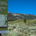 Trailhead from the west side.- Mammoth Rock Trail