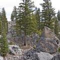 Find huge boulders by the trail!- The Hoodoos