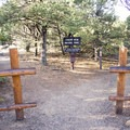 The Chasm View Nature Trailhead is marked by clear signage.- North Rim Chasm View Nature Trail