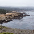 Sand Hill Cove and the south shore of Point Lobos.- Sea Lion Point + Sand Hill Trails