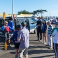 Several guide services operate out of Moss Landing and offer whale watching kayak tours.- Monterey Bay