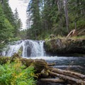 Smaller falls are found along the North Umpqua Trail.- Lemolo Falls via the North Umpqua Trail