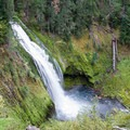 165-foot Lemolo Falls on the Umpqua National Forest.- Lemolo Falls via the North Umpqua Trail